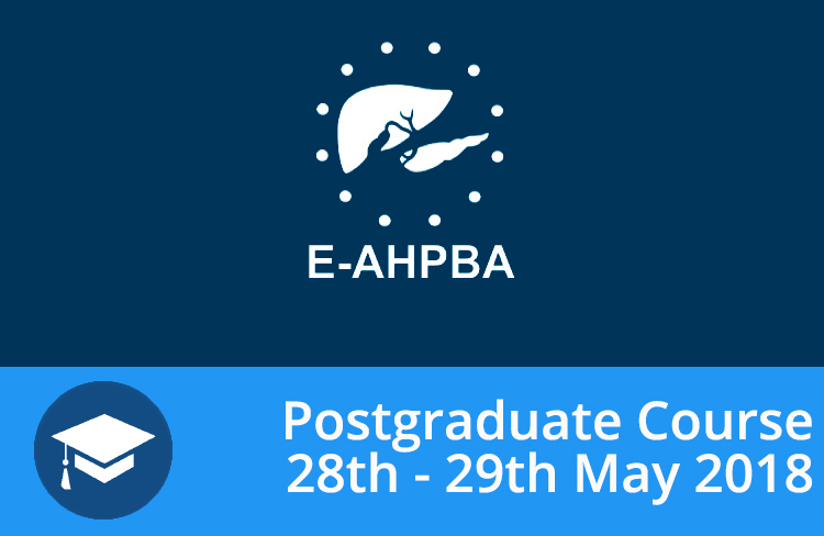 E-AHPBA Post Graduate Course – Liver Malignancies: 28th And 29th May 2018, Innsbruck, Austria – Invitation From The Course Directors