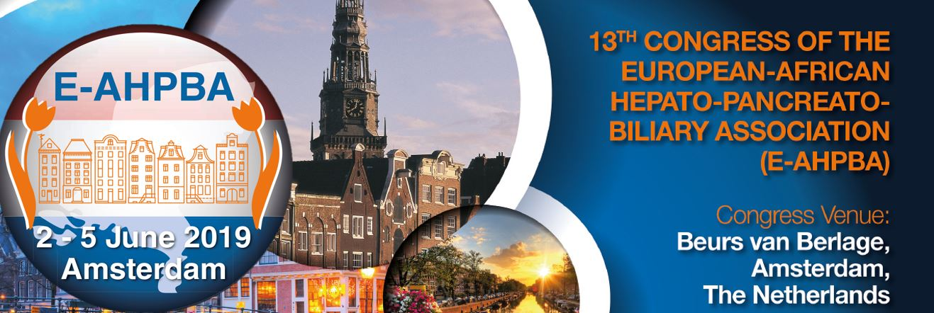 E-AHPBA 2019 Early Registration Deadline – Thursday 28th February 2019!