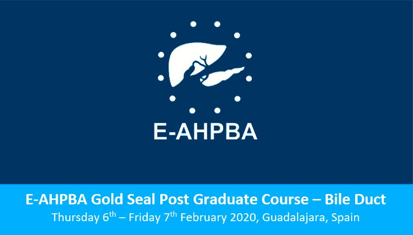 E-AHPBA Gold Post Graduate Course: Bile Duct – Registration Is Now Open!