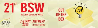 """21st  Belgian Surgical Week 2020: Title: """"Thinking Out Of The Box"""""""
