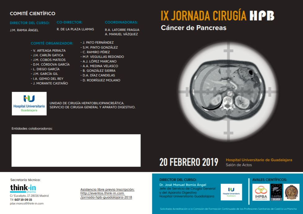 IX JORNADA CIRUGIA HPB Cancer De Pancreas