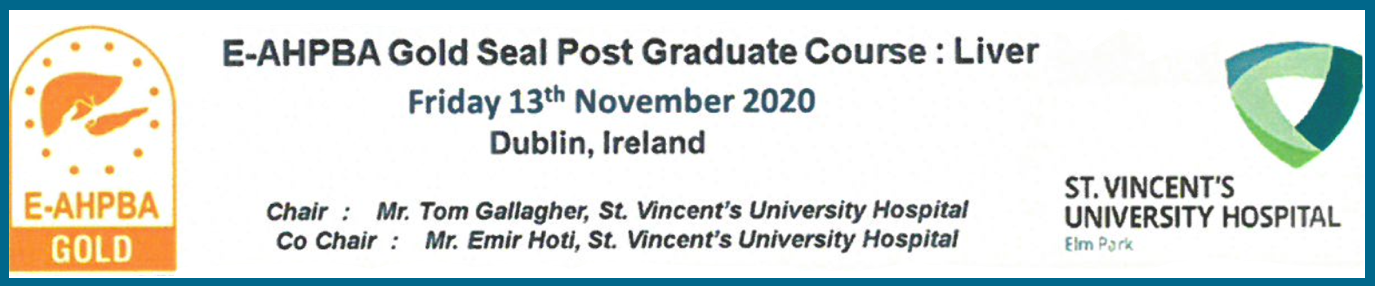 Gold Seal Post Graduate Course On Liver In Dublin, Ireland