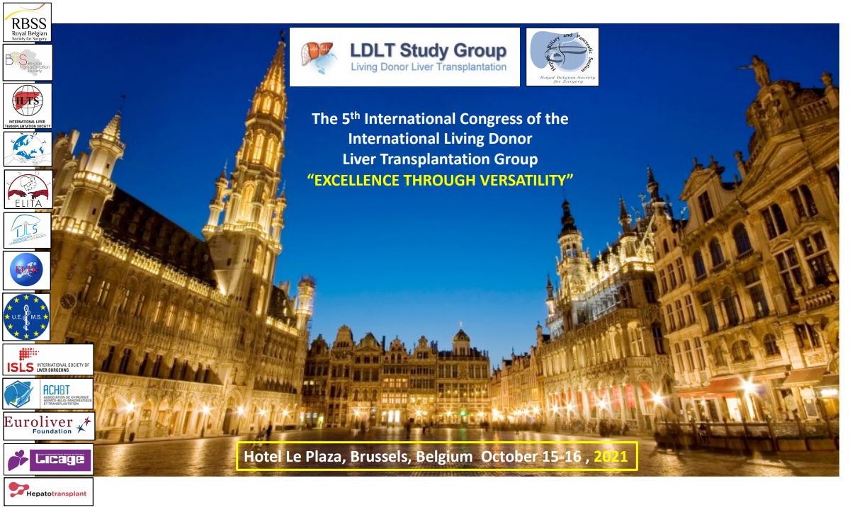 The 5th International Congress Of The International Living Donor Liver Transplantation Group