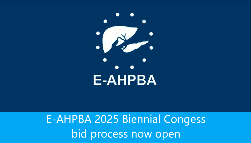 Launch Of The E-AHPBA 2023 Biennial Congress Bid Process.